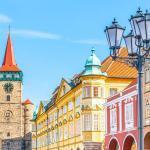Latarnia z pięcioma oprawami - stare miasto