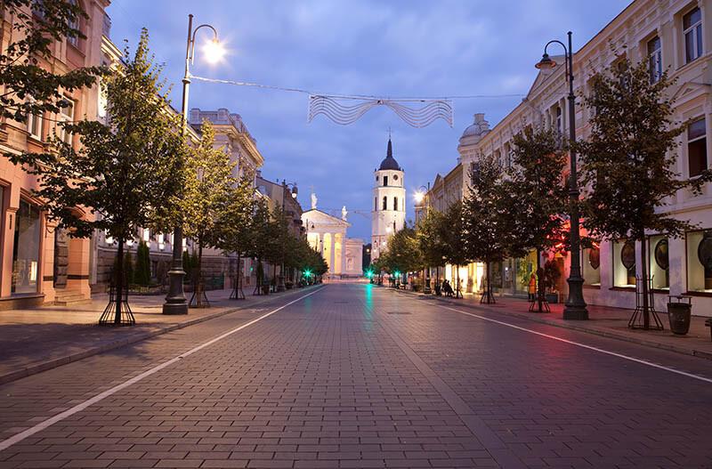 Oświetlenie miasta