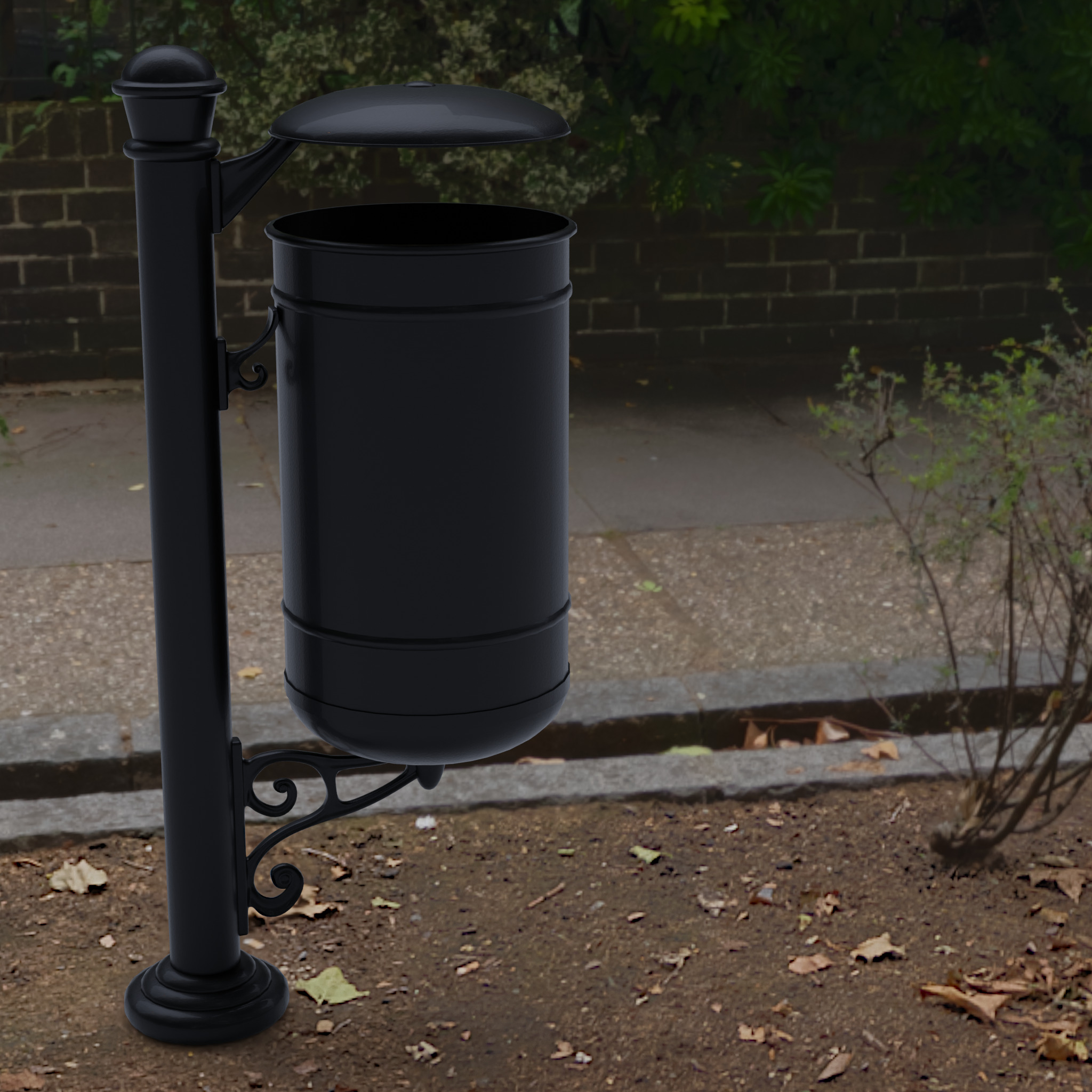 Garbage can K3D